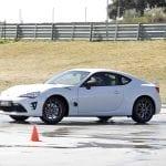 Pruebas de drift con Toyota GT86 en en Toyota Gazoo Racing Experience