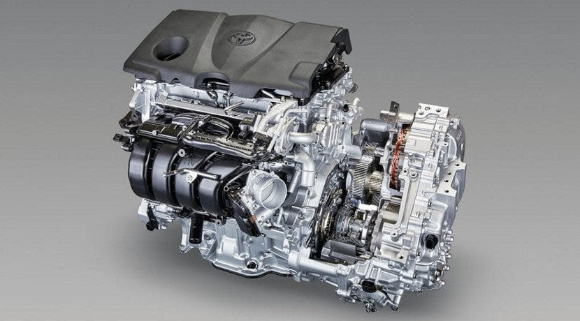 Cambio automático CVT o de variador continuo: e-CVT