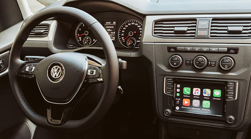 Interior del Volkswagen Caddy
