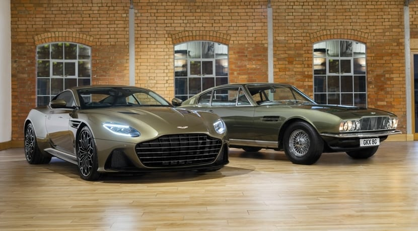 Aston Martin DBS Superleggera Special Edition On Her Majestys Secret Service
