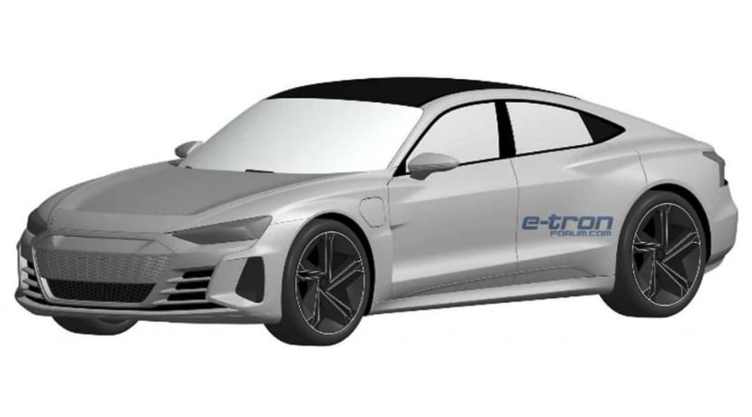 Audi e-tron GT frontal-lateral