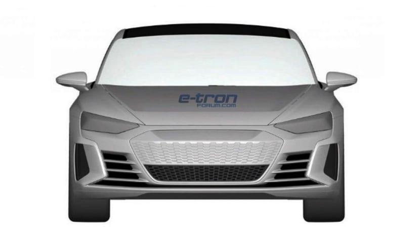 Audi e-tron GT frontal