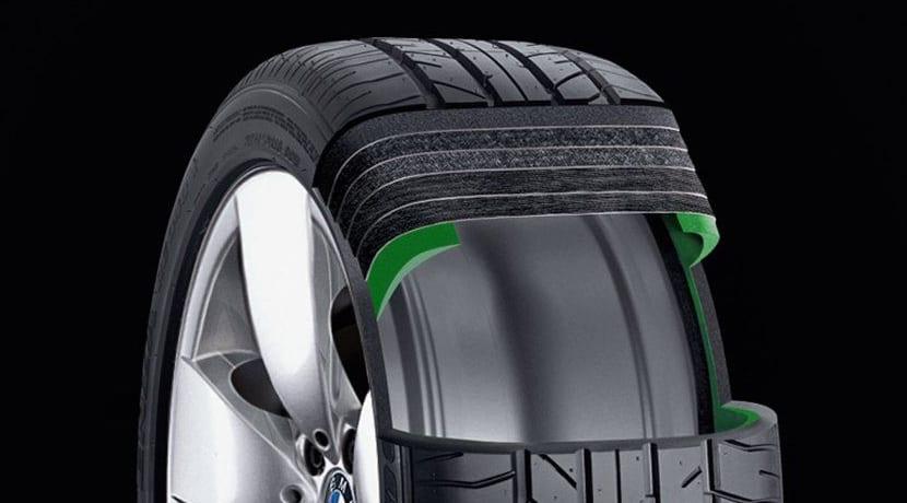 Neumático Runflat de BMW