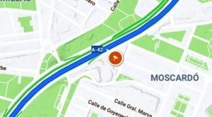 Google Maps radares fijos
