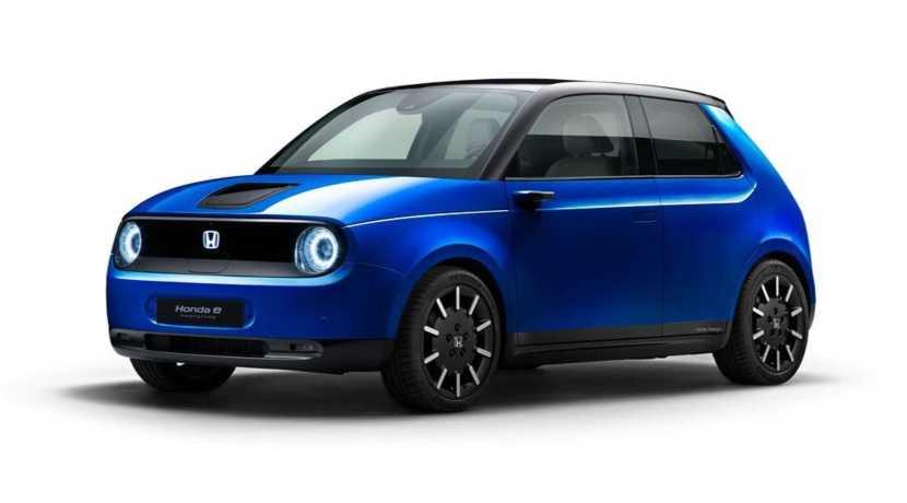 Honda e Crystal Blue Metallic