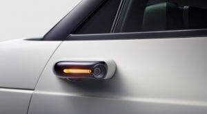 Honda e sistema de retrovisores por cámara