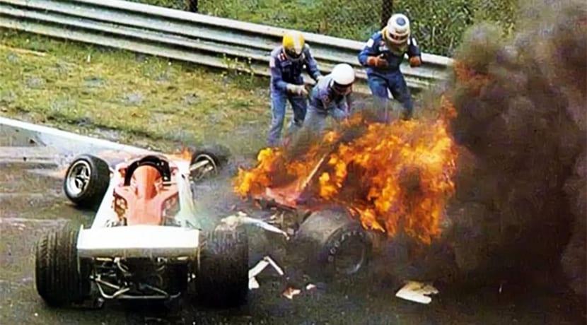 Accidente de Niki Lauda 1976
