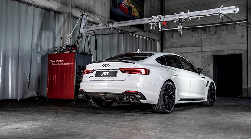 ABT RS5-R Sportback trasera