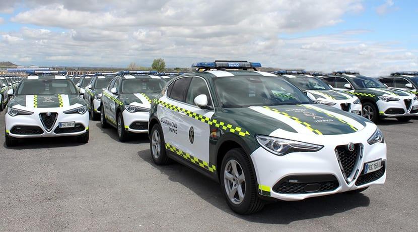 Guardia Civil Tráfico Alfa Romeo Stelvio