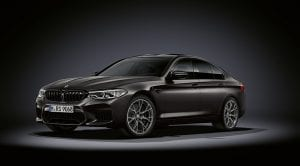 BMW M5 35 Aniversario perfil