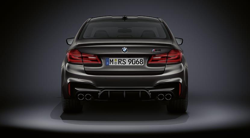 BMW M5 35 Aniversario trasera