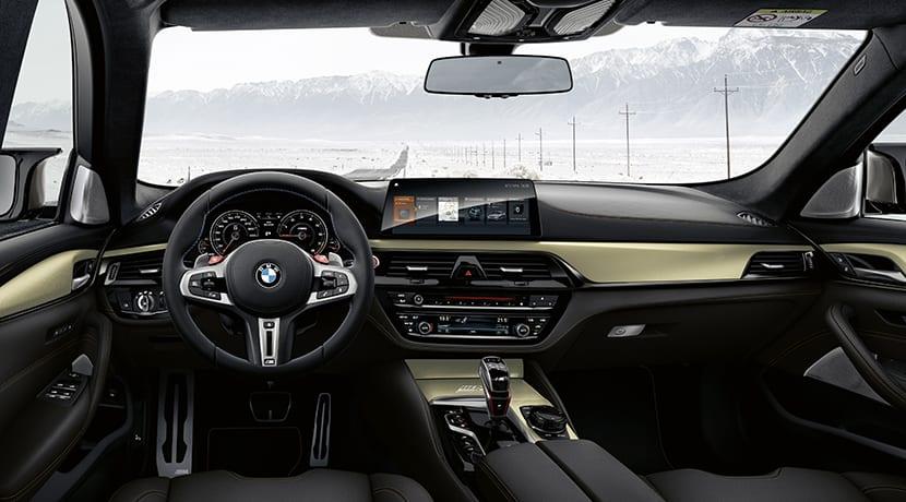 BMW M5 35 Aniversario interior