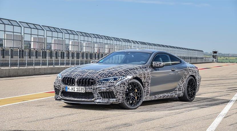 BMW M8 camuflado