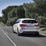 BMW Serie 1 trasera