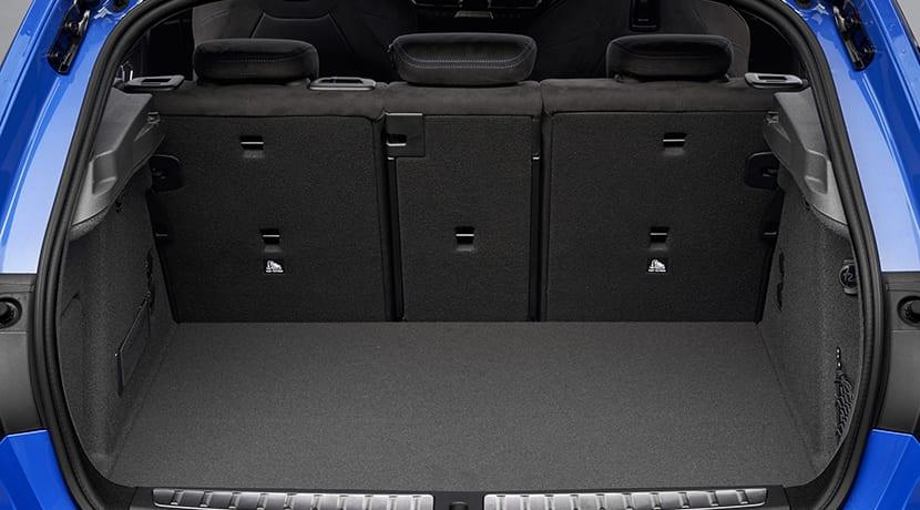 BMW Serie 1 maletero