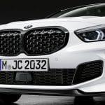 Parrilla del BMW Serie 1 2020 con componentes M Performance