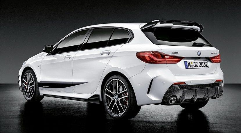 Alerón y difusor M performance del BMW Serie 1 2020