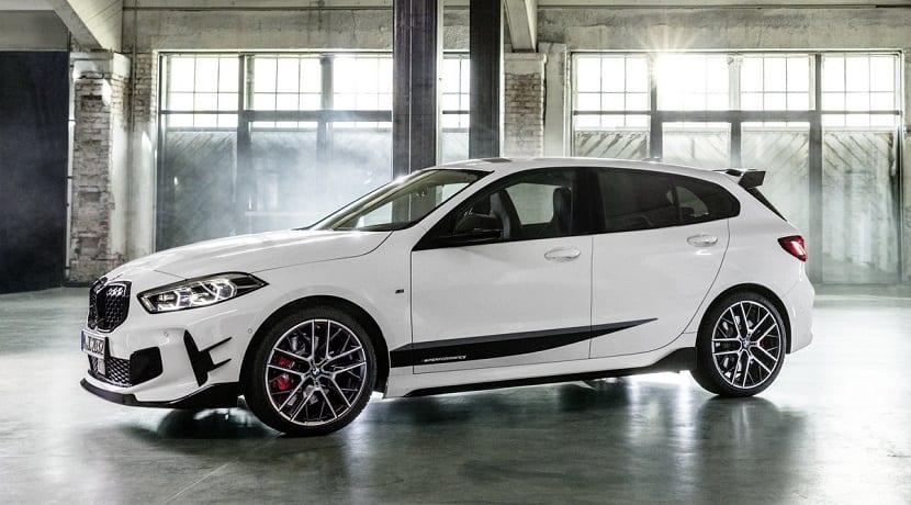 BMW Serie 1 2020 con los componentes M Performance