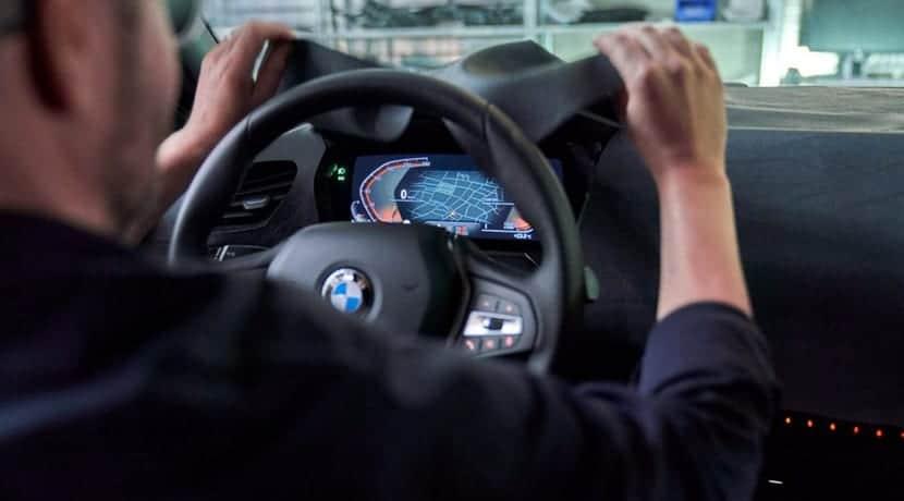 BMW Serie 1 teaser cuadro instrumentos