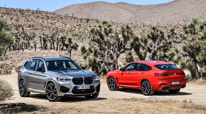 BMW X4 M Competition y BMW X3 M Competition