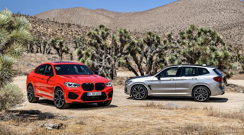 BMW X3 M Competition y BMW X4 M Competition