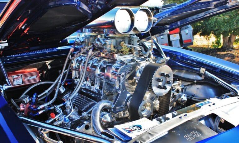 Papel de la distribución de un motor