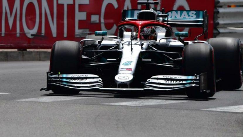 Hamilton en Mónaco 2019