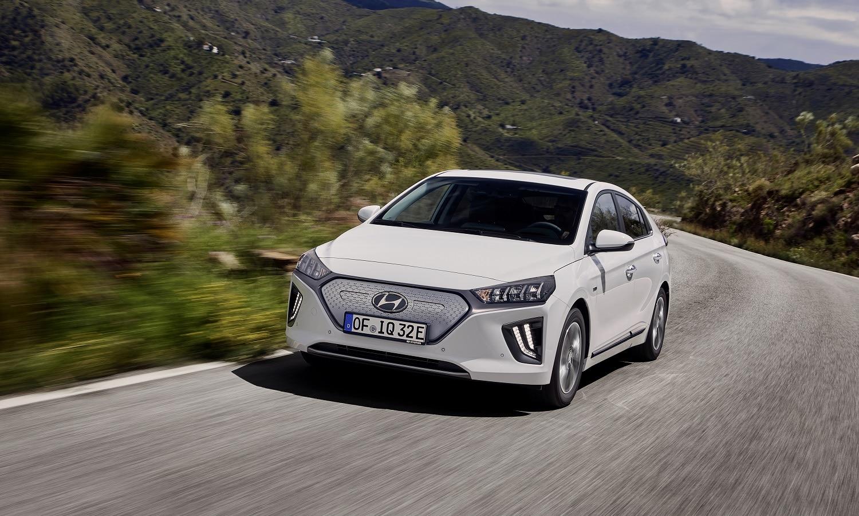 Motores eléctricos como el de este Hyundai Ionic