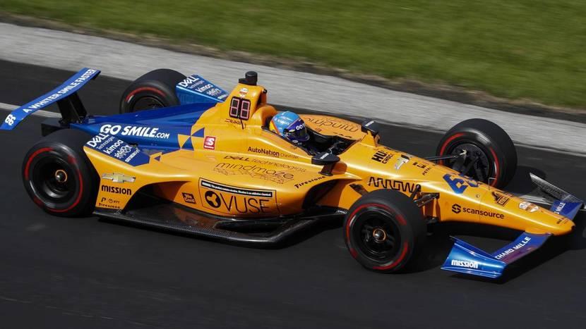 Coche de Indy de McLaren Carlin 2019