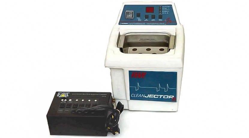 Máquina de ultrasonidos para limpiar toberas