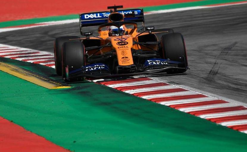 McLaren en el GP de España