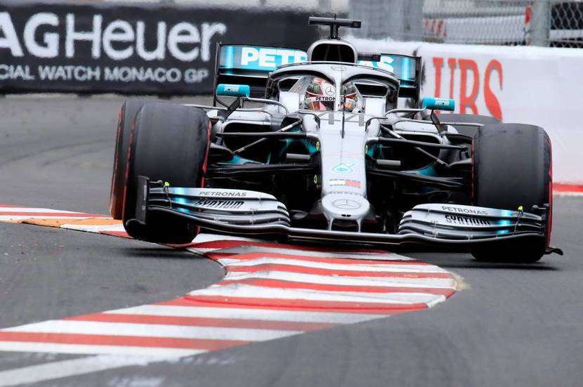 Mercedes en Montecarlo 2019