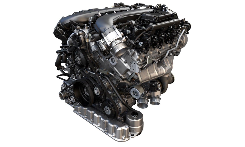 Motor gasolina: Bentley W12 de 6.0 litros TSI