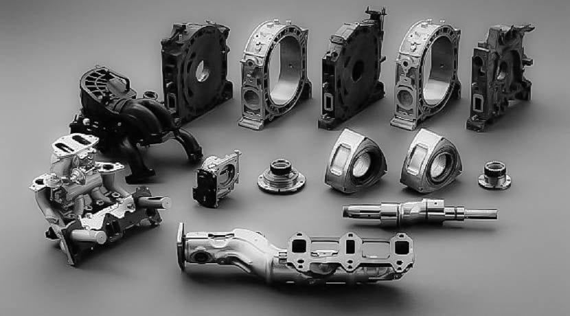 Partes del motor Wankel o rotativo