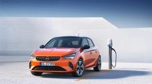 Opel Corsa-e cargador