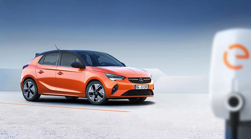 Opel Corsa-e perfil