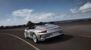 Porsche 911 Speedster dinámica