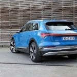 Audi e-tron 55 quattro parte trasera