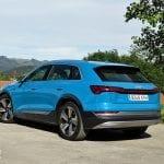 Prueba Audi e-tron 55 quattro trasera