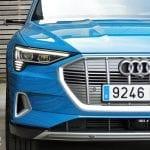 Prueba Audi e-tron detalle parrilla singleframe