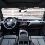 Prueba Audi e-tron salpicadero