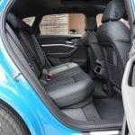 Prueba Audi e-tron plazas traseras