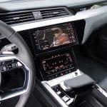 Prueba Audi e-tron pantalla central