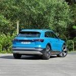 Prueba Audi e-tron 55 quattro diseño parte trasera