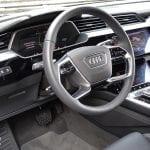 Prueba Audi e-tron detalle interior