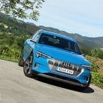 Prueba Audi e-tron 55 quattro frontal
