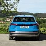 Prueba Audi e-tron trasera
