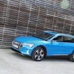 Prueba Audi e-tron 55 quattro perfil