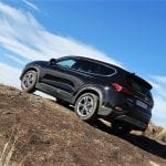 Hyundai Santa Fe hillclimb