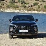 Prueba Hyundai Santa Fe offroad frontal